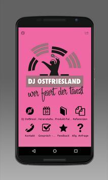DJ Ostfriesland poster