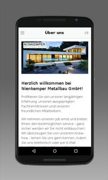 Nienkemper Metallbau GmbH apk screenshot