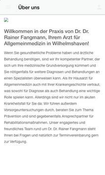 Dr. med. dent. Rainer Fangmann screenshot 1