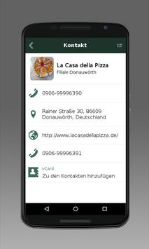 La Casa della Pizza Donauwörth apk screenshot