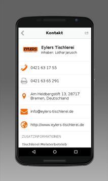Tischlerei Eylers apk screenshot