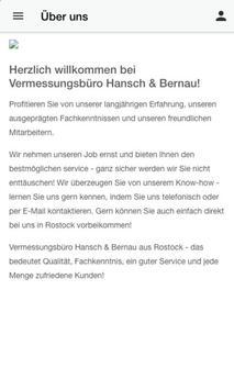 Vermessungsbüro Hansch Bernau screenshot 1