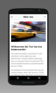 Taxi Service Bodenwerder screenshot 1