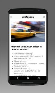 Taxi Service Bodenwerder screenshot 2