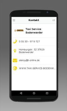 Taxi Service Bodenwerder screenshot 3