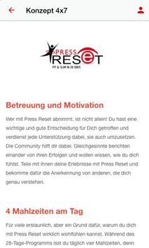 Press Reset 4x7 apk screenshot