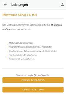 Taxi Schmeddes apk screenshot