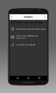 RATIONAL Marine Support apk screenshot