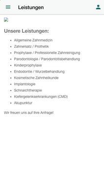 Dr. M. Häckert Zahnarztpraxis screenshot 2