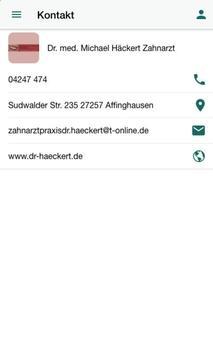 Dr. M. Häckert Zahnarztpraxis screenshot 3