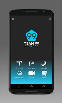 TEAM 99 FITNESS poster