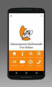 Zahnarztpraxis Schillerstraße poster