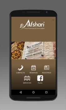 Clinica Afshari poster