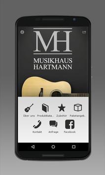 Musikhaus Hartmann poster