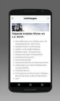 Hillmann Gala Bau apk screenshot