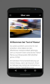 Taxiruf Manou apk screenshot