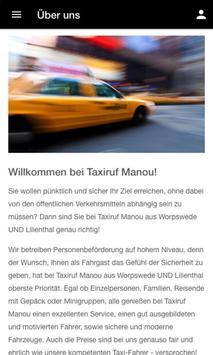 Taxiruf Manou screenshot 1