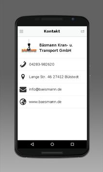 Bäsmann Kran- u. Transport apk screenshot
