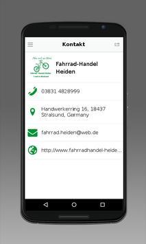 Fahrrad-Handel Heiden apk screenshot