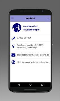 Torsten Görs Physiotherapie apk screenshot