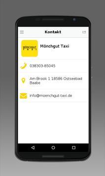 Mönchgut Taxi apk screenshot