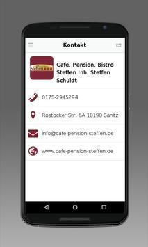 Cafe·Pension·Bistro STEFFEN apk screenshot