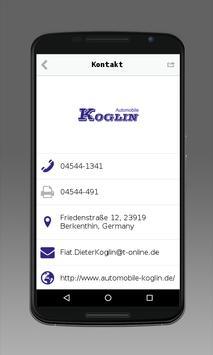 Automobile Koglin apk screenshot