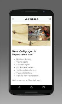 Jasmunder Segelmacherei apk screenshot