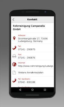 Rohrreinigung Campanella apk screenshot