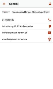 Koopmann & Hermes Elementbau screenshot 3