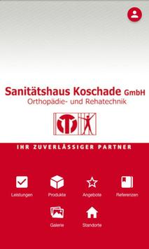 Sanitätshaus Koschade poster