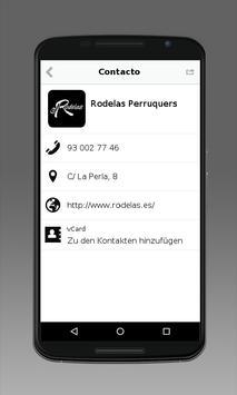 Rodelas Perruquers apk screenshot