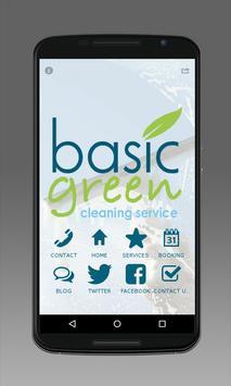 Basic Green SF poster