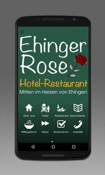 Ehinger Rose poster