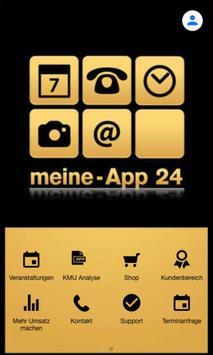 Meine App 24 poster