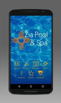 Zia Pools & Spa poster