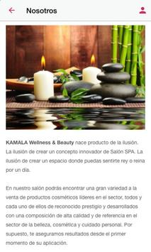Kamala Wellness & Beauty screenshot 2