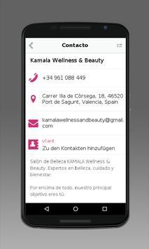 Kamala Wellness & Beauty apk screenshot