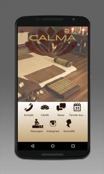 CALMA poster