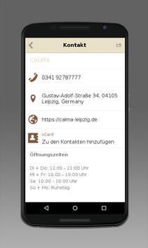 CALMA apk screenshot