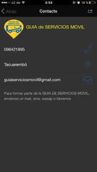 Guía de Servicios Móvil apk screenshot