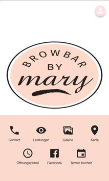 Brow Bar by Mary poster
