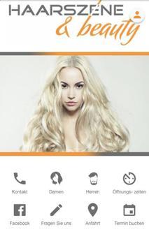 HAARSZENE & beauty poster