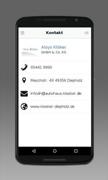 Aloys Klöker GmbH & Co. KG apk screenshot