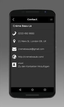 Creme Beau-Le Salon apk screenshot