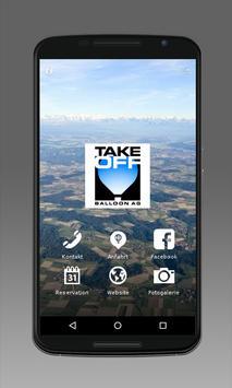 Take-Off Ballonfahrten Schweiz poster