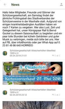SG Wiescherhöfen-Weetfeld screenshot 2