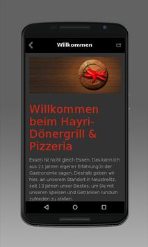 Hayri Dönergrill & Pizzeria apk screenshot