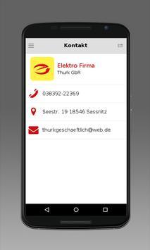 Elektro Firma Thurk GbR apk screenshot