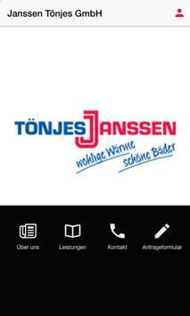 Janssen Tönjes GmbH poster